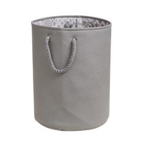 Geo Tile Grey Laundry Bag