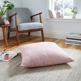 Easton Dobby Blush Floor Cushion