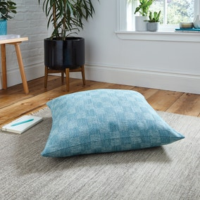 Parker Weave Teal Floor Cushion