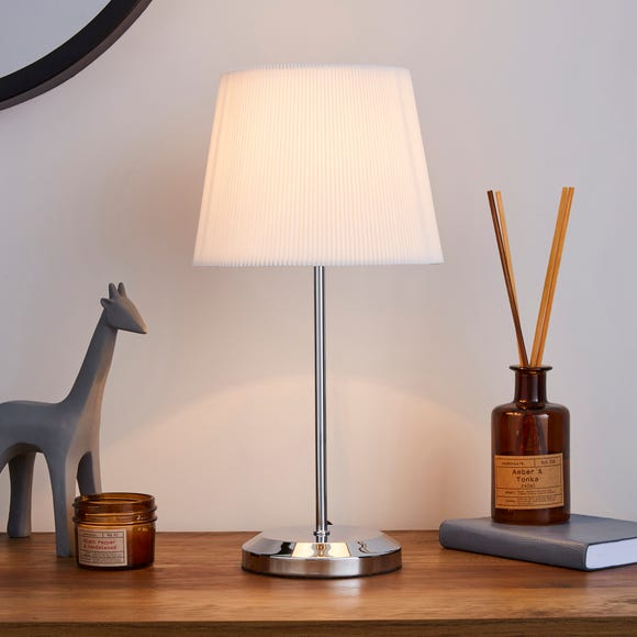 Jali Ivory Touch Dimmable Table Lamp Ivory