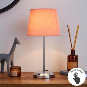 Jali Pink Touch Dimmable Table Lamp