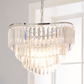 Katarine 1 Light Pendant Jewel Ceiling Fitting