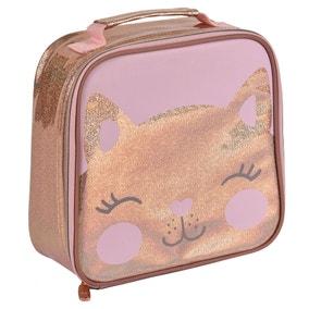 Polar Gear Rose Gold Kitty Lunch Bag
