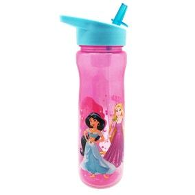 Disney Sparkly Princess 600ml Plastic Water Bottle