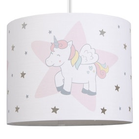 Unicorn Dreams Drum Light Shade