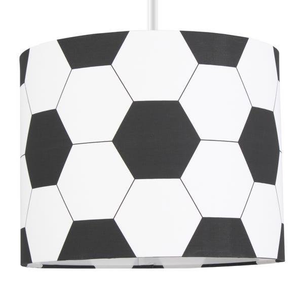 Football Drum Light Shade Black
