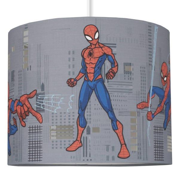 Disney Marvel Spider-Man Drum Light Shade Grey