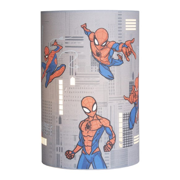 Disney Marvel Spider-Man Lamp Grey
