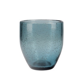 Zen Blue Tumbler Glass