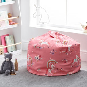 Unicorn Pink Bean Bag