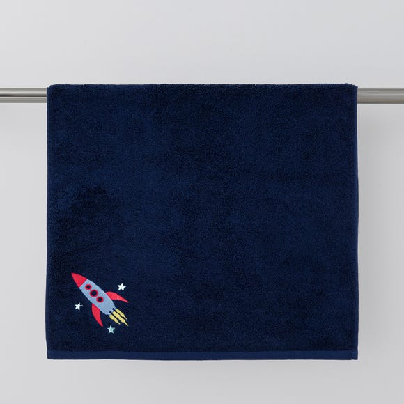 Space Blue Towel  undefined