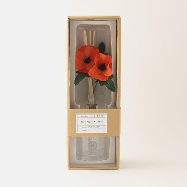 Churchgate Poppy 200ml Diffuser MultiColoured