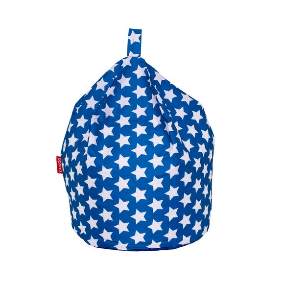 Blue Stars Bean Bag Blue