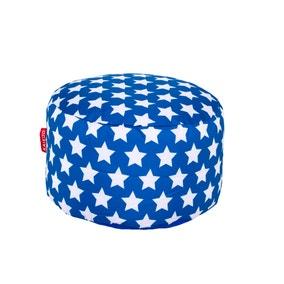 Blue Stars Footstool