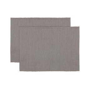 Pack of 2 Ribbed Placemats