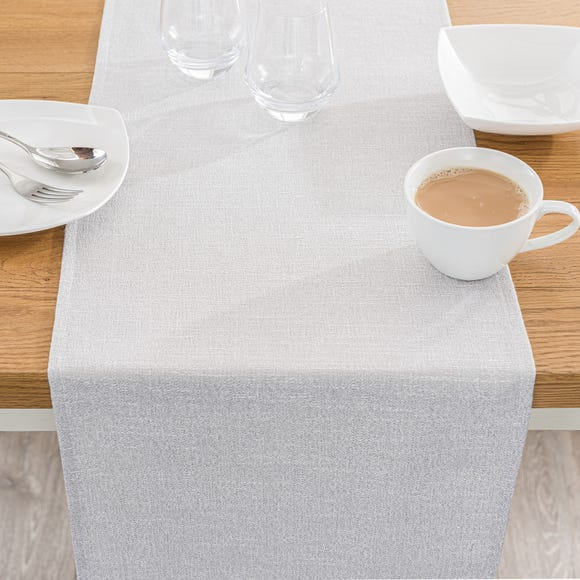 Brighton Dove Grey Table Runner Grey undefined