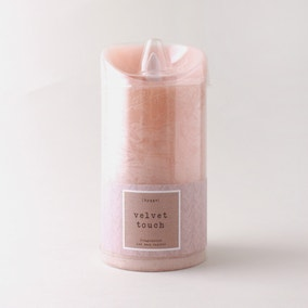 Hygge Blush Pink Single LED Candle