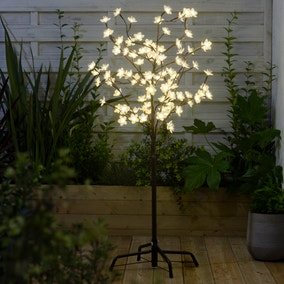 Light-Up LED Outdoor Blossom Tree