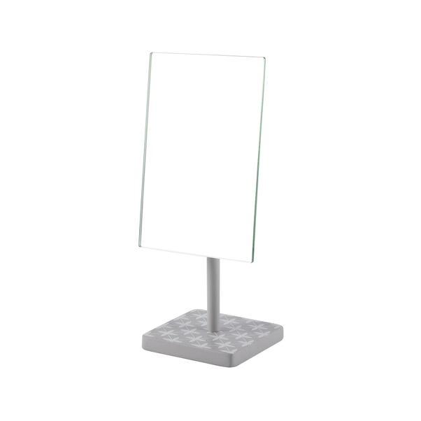 Geo Tile Free Standing Pedestal Mirror