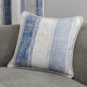 Sadie Stripe Blue Cushion