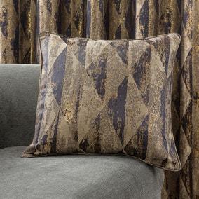 Luxor Metallic Blue Cushion