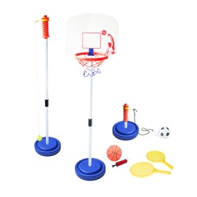 3 in 1 Swing Tennis, Basketball & Football Outdoor Game