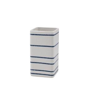 Nautical Stripe Ceramic Tumbler