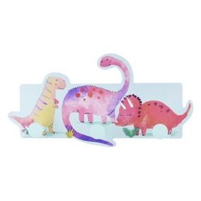 Dinosaur Three Pack Wall Hooks
