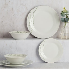Sprig 12 Piece Dinner Set