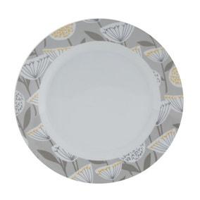 Emmott Grey Dinner Plate