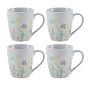 Meadow Pack of 4 Mugs
