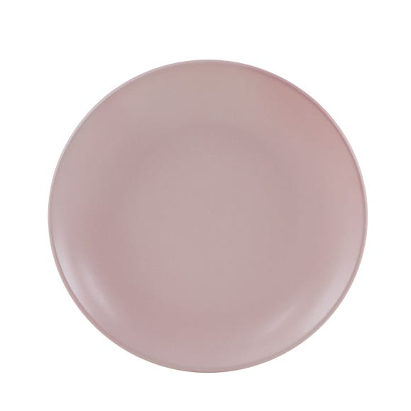 Stoneware Pink Side Plate Pink
