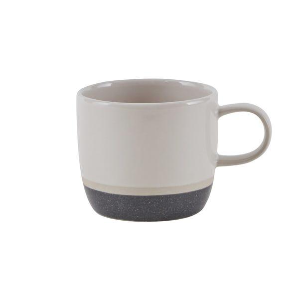 Elements Dipped Charcoal Mug Grey