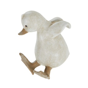Resin Duck Back Hanging Plant Pot Accessory