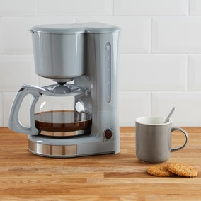 730W-870W Grey Coffee Machine
