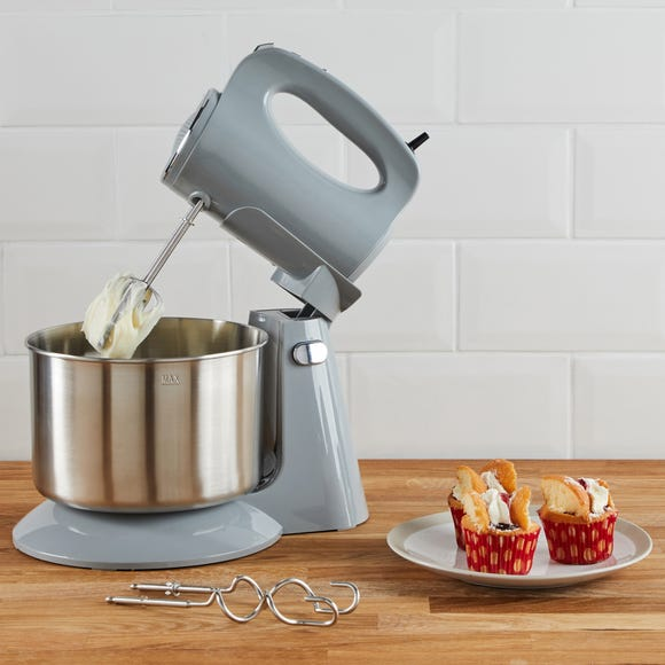 300W Grey Stand Mixer Light Grey
