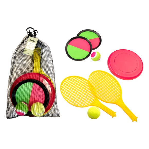 3 in 1 Kids Outdoor Sports Set Multi-Coloured