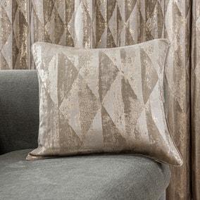 Luxor Metallic Champagne Cushion