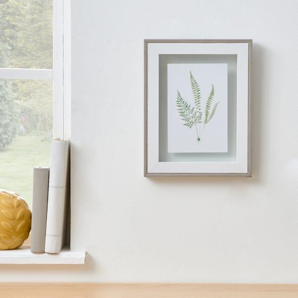 "Grey Washed Wood Floating Frame 6"" x 4"" (15cmx 10cm) Grey"