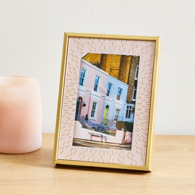 "Blush Confetti Frame 6"" x 4"" (15cmx 10cm)"