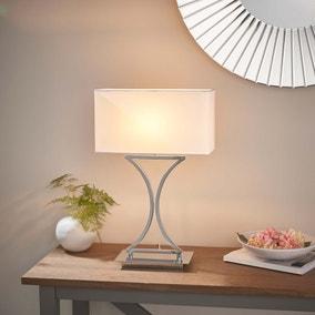 Vogue Epalle Table Lamp Chrome