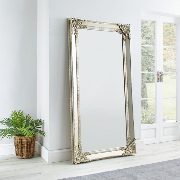 Roma Leaner Mirror 177x91cm Silver Silver