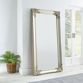 Roma Leaner Mirror 177x91cm Silver