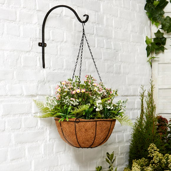 Daisy Hanging Basket Multi-Coloured