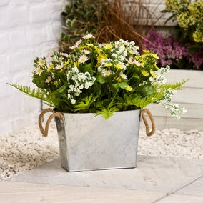 Artificial Daisy Flower Plant in Pot