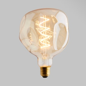 Status 5 Watt ES 17cm Spiral Filament Bumpy Bulb
