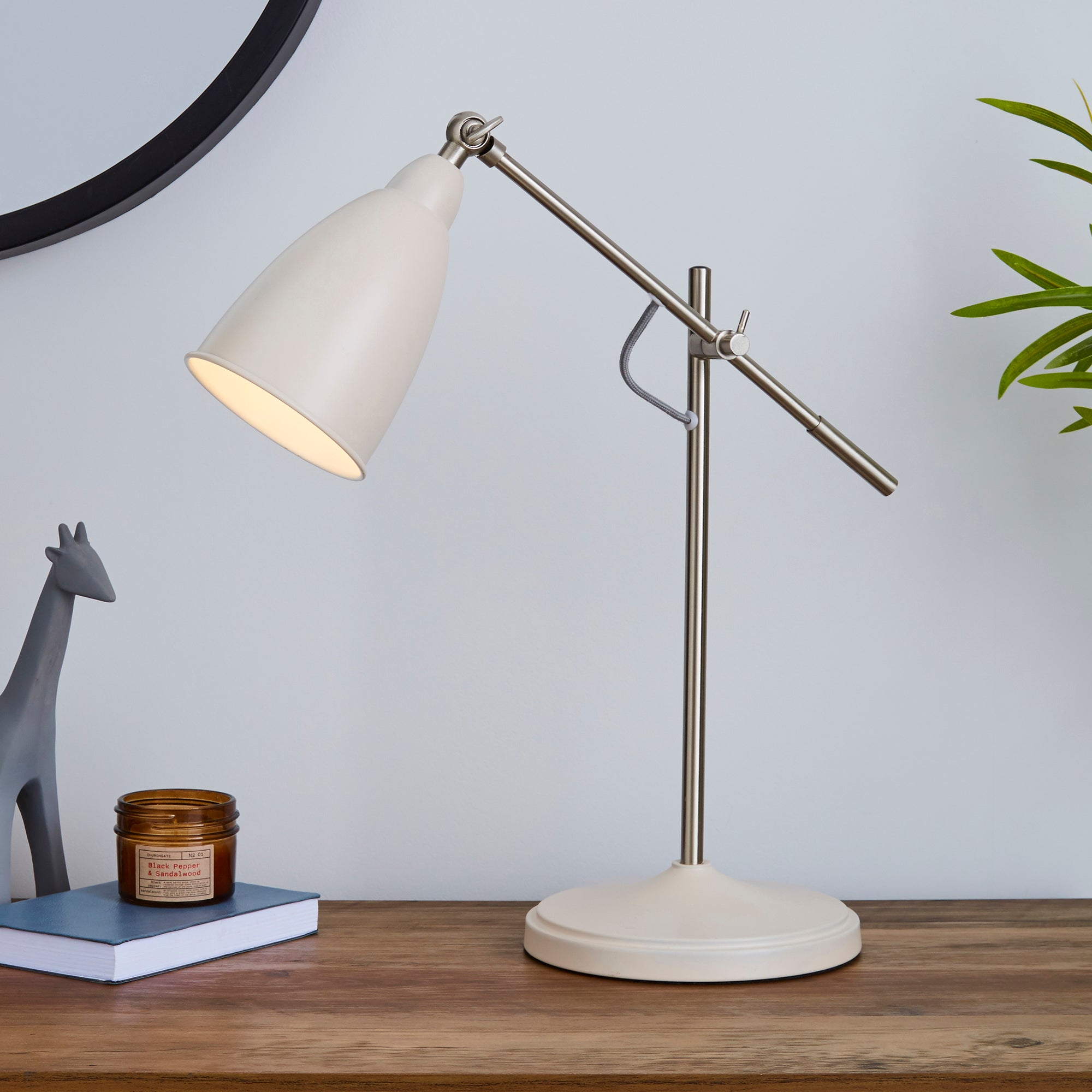 Click to view product details and reviews for Robson Mushroom Lever Arm Task Desk Lamp Mushroom.