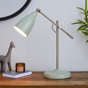 Robson Seafoam Lever Arm Task Desk Lamp