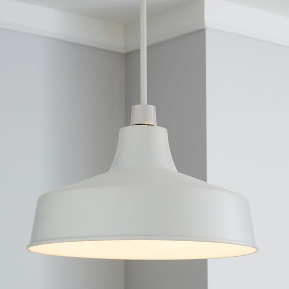 Stern White Easy Fit Pendant White