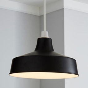 Stern Black Easy Fit Pendant